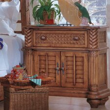 Paradiso 1 Drawer Nightstand by Bay Isle Home