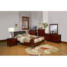 Newport Platform Customizable Bedroom Set by Alpine Furniture