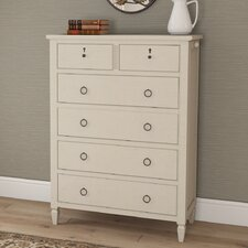 Causey Park 6 Drawer Chest by Canora Grey