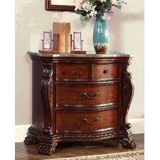 Luxor 3 Drawer Bachelor's Chest by Meridian Furniture USA
