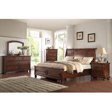 American Heritage Sleigh 5 Piece Bedroom Set by Ultimate Accents