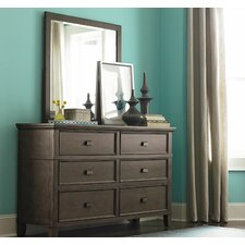 6 Drawer Dresser with Mirror by Canora Grey