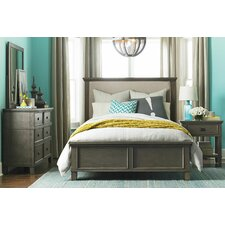 Upholstered Panel Customizable Bedroom Set by Canora Grey