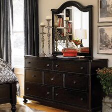 Blithedale 7 Drawer Dresser with Mirror by Rosecliff Heights