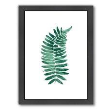 Fern Single Framed Graphic Art