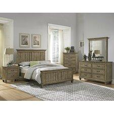Attleboro Queen Panel Customizable Bedroom Set by Loon Peak®