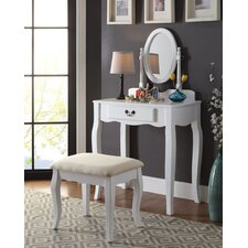 Spurling Hill Transitional Vanity Set with Mirror by Darby Home Co®