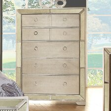 Geier 5 Drawer Chest by House of Hampton