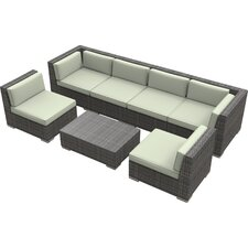 Oahu 7 Piece Deep Seating Group with Cushions
