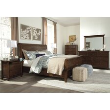 Allred Sleigh Customizable Bedroom Set by Darby Home Co®