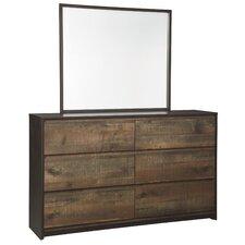 Taumsauk 6 Drawer Dresser with Mirror by Trent Austin Design®