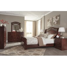 Schwerin Sleigh Customizable Bedroom Set by Rosalind Wheeler