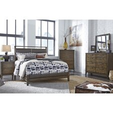 Labhira Upholstered Panel Customizable Bedroom Set by World Menagerie