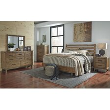 Desjardins Queen Platform Customizable Bedroom Set by Laurel Foundry Modern Farmhouse
