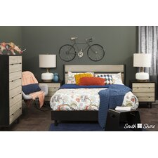 Morice Queen Platform Customizable Bedroom Set by South Shore