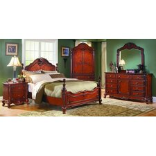 Drew Four Poster Customizable Bedroom Set by Astoria Grand Best Price