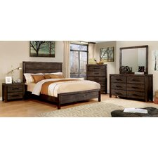 Blackburn Panel Platform Customizable Bedroom Set by Loon Peak®