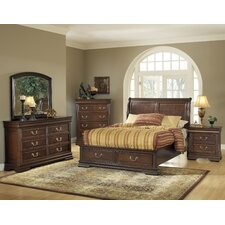 Hennessy Platform Customizable Bedroom Set by ACME Furniture