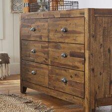 Braxton 6 Drawer Dresser by Magnussen Furniture