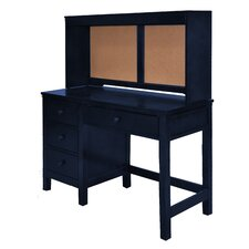Leann Desk with Cork Back Hutch by Viv + Rae