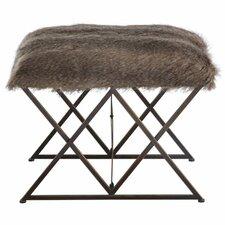 Phaeton Faux Fur Bedroom Bench by Mercury Row®