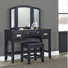 Prescott Vanity with Mirror by Home Styles
