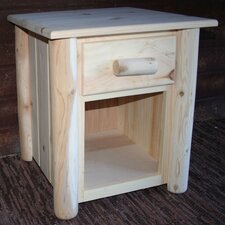 Frontier 1 Drawer Nightstand by Lakeland Mills