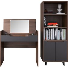 Aristocles Vanity with Mirror by Mercury Row®