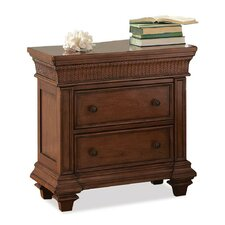 Quincy 2 Drawer Nightstand by Bay Isle Home