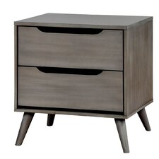 Lennart 2 Drawer Nightstand by A&J Homes Studio