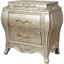 Holmes 2 Drawer Nightstand by House of Hampton