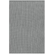 Ariadne Saddle Stitch Gray Area Rug