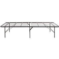Foldable Metal Platform Bed Frame by Weekender Compare Price