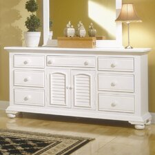 Cottage Traditions Triple 7 Drawer Dresser by American Woodcrafters
