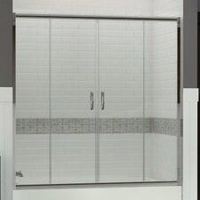 Portes de douche et de bain for Porte coulissante 60 x 96