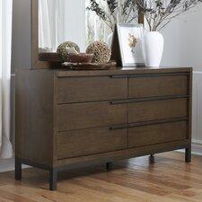 Menahan 6 Drawer Dresser by Brayden Studio®