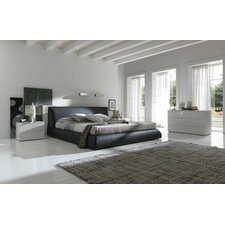 Coco Platform Customizable Bedroom Set by Rossetto USA