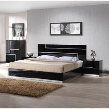 Lucca Platform Customizable Bedroom Set by J&M Furniture