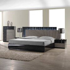 Roma Platform Customizable Bedroom Set by J&M Furniture