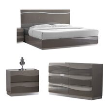 Delhi Platform Customizable Bedroom Set by Chintaly Imports