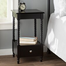 Pratolina 1 Drawer Nightstand by Charlton Home®