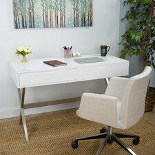 Porsha Desk Vanity Set with Mirror by Matrix