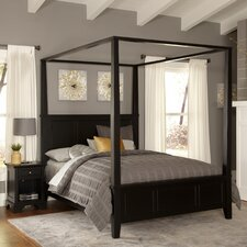 Marblewood Canopy 2 Piece Bedroom Set by Alcott Hill®