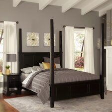 Marblewood Four Poster 2 Piece Bedroom Set by Alcott Hill®
