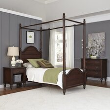 Canouan Canopy 3 Piece Bedroom Set by Bay Isle Home