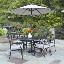 Lansdale 9 Piece Dining Set with Cushions by Darby Home Co®