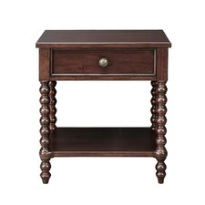 Beckett 1 Drawer Nightstand by Madison Park Signature