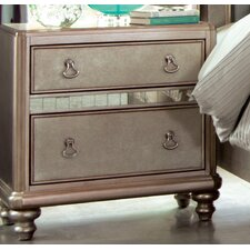 Dorcey 2 Drawer Nightstand by House of Hampton