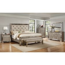Chesmore Panel Customizable Bedroom Set by House of Hampton Price