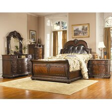Amalfi Sleigh Customizable Bedroom Set by Astoria Grand Best Reviews